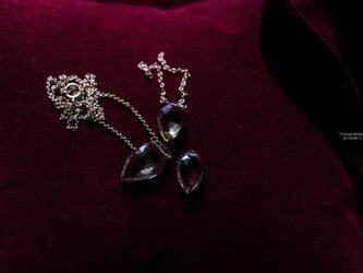 【14kgf】Petalペタル/Honeyquartz ハニークオーツ花びらネックレスの画像