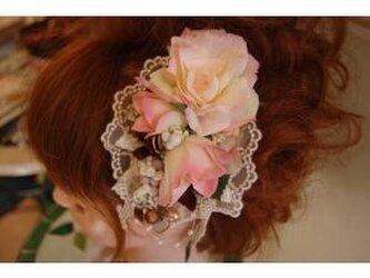 美容師が作る生花のようなリアル造花髪飾り*愛媛の雑貨屋レアマハロの画像