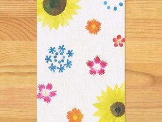 ポストカードO-【なつの花】2枚セットの画像