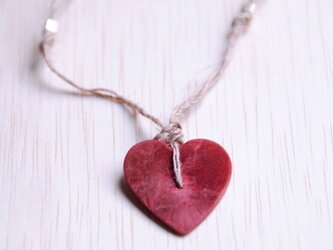 Tippi『Red Heart Pendant』ペンダント 5/5の画像