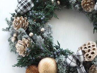 [セミオーダー]クリスマスリースの画像