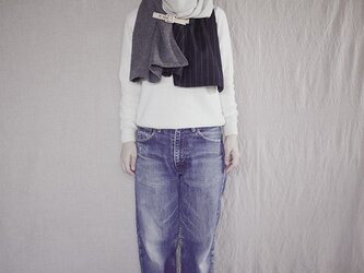 resale▼ three cloth leathrbelt stole <B>の画像