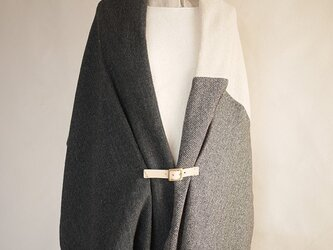 resale▼ three cloth leathrbelt stole <E>の画像