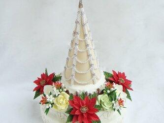ちょっと大人なクリスマスツリー(LEDライト付)の画像