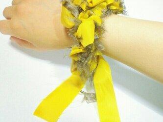糸✖布シュシュ #1の画像