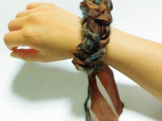 糸✖布シュシュ #2の画像
