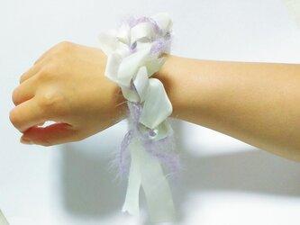 糸✖布シュシュ #4の画像