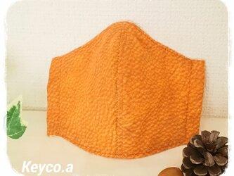 立体マスク(L)(ワイヤー入)◆リアルスキン(茶)の画像