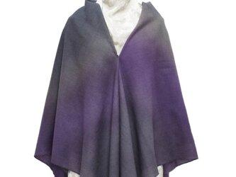 ウール大判多用途スカーフの画像