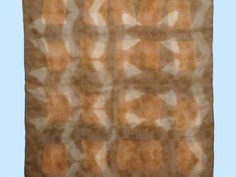 植物染めプチスカーフ Bの画像