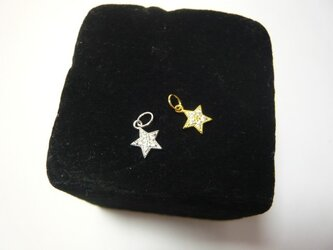 シルバートップ・STAR丸環付き(2種シルバー・ゴールド)の画像