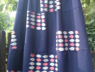 お召3段切り替えバルーンギャザースカート の画像