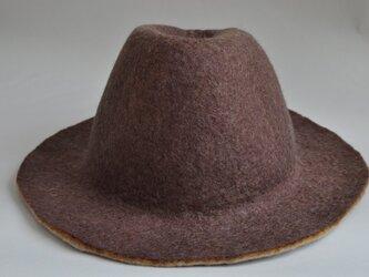 羊毛の帽子の画像