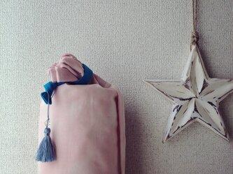 再販☆ダイダイ柄のヨガマットケース ベビーピンクMサイズの画像