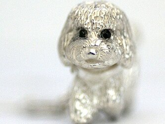 Poodle Charm Pendantの画像