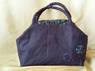 bag 紫紺の画像