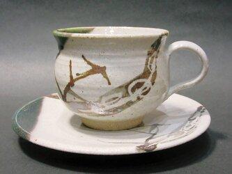 織部唐津コーヒーカップの画像
