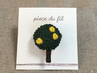レモンの樹ブローチの画像