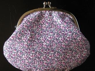 がま口(ピンク系)の画像