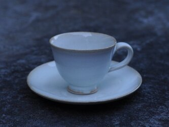 コーヒーカップ&皿の画像