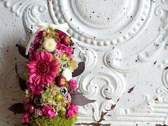 ストロベリー  年中飾れる!植木感覚 ナチュラルツリー プリザーブドフラワー  トピアリー  ギフト 北欧の画像