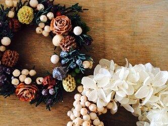 SALE‼︎ small wreathe 2setの画像