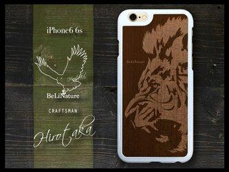 ライオンが大好きな方々とっての最高のiPhone6 6sケース ホワイトの画像
