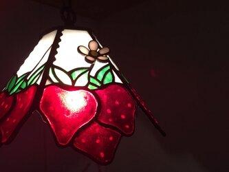 いちごのランプ(むっちゃん様オーダー分)の画像
