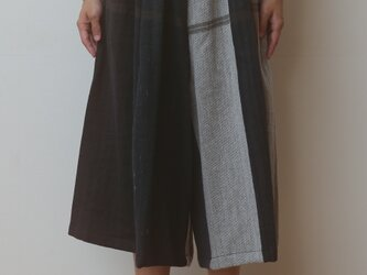 【NEW】wide pants SHORT wool70の画像