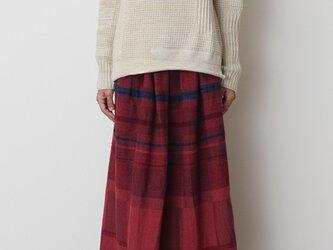 powan skirt LONG wool70の画像