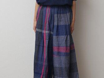wide pants SHORT cottonの画像