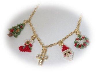 クリスマス☆ネックレスの画像