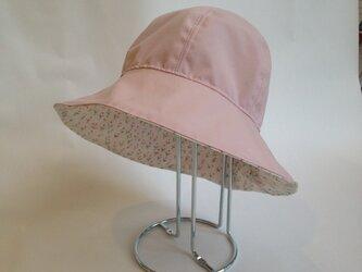 キッズ 雨帽子 リバティレインハット 54リバーシブルの画像