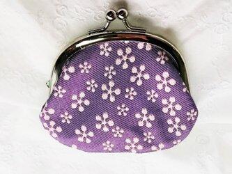 浅紫 シルク 西陣織 の画像