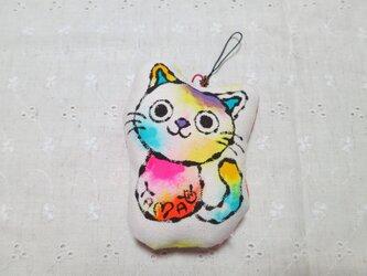 猫のストラップ 01の画像