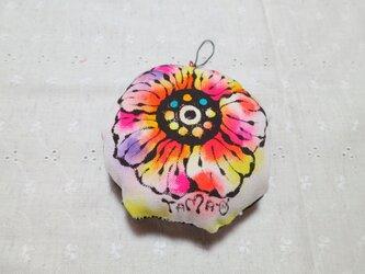 大きなお花のストラップ 03の画像