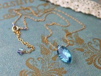 ◆K14gf、宝石質大粒フローライト、アイオライト、アパタイトN、一点物の画像