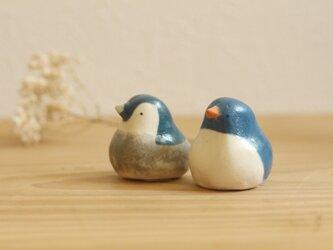 《再販》新色!ペンギンのおやこセット ブルーの画像