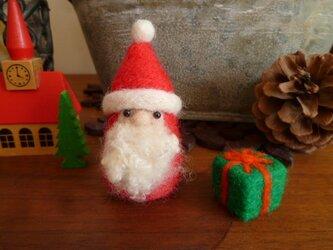再販 羊毛フェルトのサンタ♡プレゼントBOXおまけ付きの画像