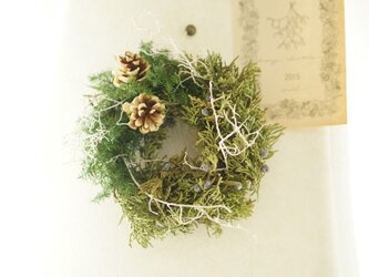 green wreathの画像