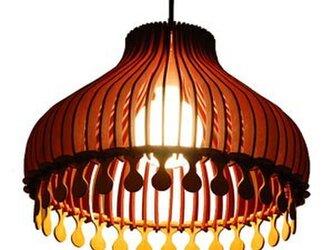 木製照明 ペンダントライト NGRの画像