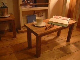 小さなコーヒーテーブル 【ブラウン】の画像