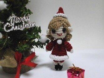 2015 クリスマスの編みぐるみちゃん♪の画像