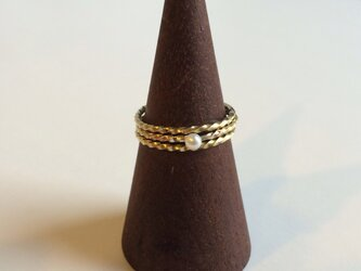Nejineji Pearl Ring 3setの画像