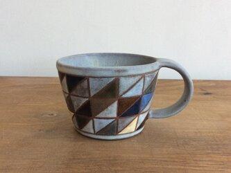 タイル文様マグカップ(No.175)の画像