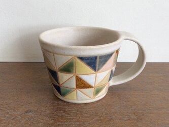 タイル文様マグカップ(No.176)の画像