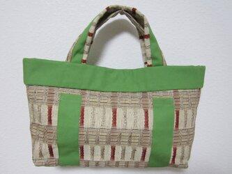 和風トートバッグの画像