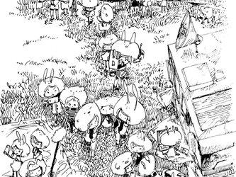 [ウッドパネル] 野次馬会の画像