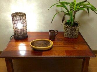 カリン ローテーブルの画像