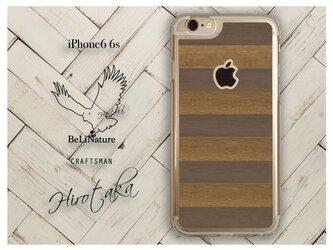 iPhoneが大好きな方々にとって最高の木製iPhone6 6s ケース (ウォールナット+チーク)の画像